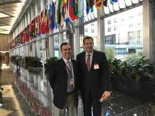 James M. Donovan with Jim Thompson, Director for Innovation, US State Department